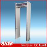 6 Zone 100 Niveaux Faible Rayonnement Archway Cadre de porte Portée portable à travers un détecteur de métaux pour la sécurité de l'aéroport