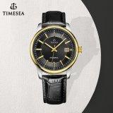 Goldener Geschäfts-mechanische Mann-Uhr-Edelstahl-wasserdichter Luxuxschlag-beständige Uhr 72204