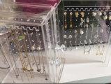 Оптовая акриловая коробка ювелирных изделий сек индикации серьги