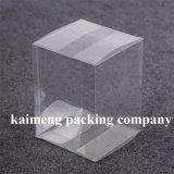 Caixa de papel higiénico de plástico para decoração de presentes (caixa transparente)