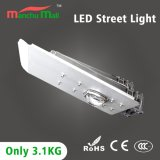 Ultraligero de alta potencia de 100W LED con luz de calle
