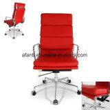 Eamesの現代上昇の旋回装置のオフィス管理マネージャの革張りのいす(RFT-A01-2)
