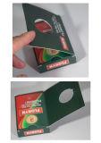 Juego de tarjetas que juegan de papel promocional del póker para el vino