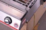 Gril commercial de BBQ de gaz de matériel de restauration
