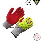TPRの手袋の影響および切口の抵抗力がある保護Mechanix作業手袋