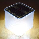 Lanterna solare gonfiabile impermeabile chiara solare del comitato LED del nuovo cubo all'ingrosso di arrivo per il campeggio & la famiglia esterni