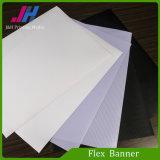 Bandera superior blanca de la flexión del PVC Frontlit para la impresión de Digitaces