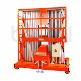 Direkte Hersteller-Doppelt-Mast-Luftarbeit-Plattform-hydraulischer Aufzug (8m)
