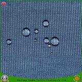 Tissu ignifuge imperméable à l'eau visqueux tissé de rideau en arrêt total de polyester