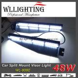 手段の内部のバイザーのLightbar 48Wの警報灯