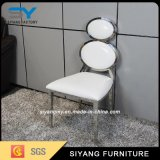 レストランのための椅子を食事する一流の銀製のステンレス鋼