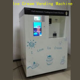 Máquina de Vending macia do gelado/máquinas de Vending a fichas