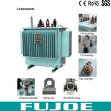 Transformateur d'alimentation triphasé du pétrole S11 transformateur de pétrole à haute tension de pouvoir de 6 à 220 kilovolts à vendre 20kVA