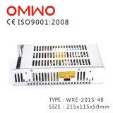 Wxe-201s-48 Hotsale konstanter Ein-Output201W stromversorgung Wechselstrom Schalter zum Gleichstrom-SMPS
