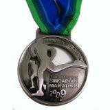 Medalla corriente de la universidad de deporte del recuerdo de encargo barato de la reunión