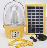 Indicatore luminoso di campeggio solare portatile di alta qualità con la nuova muffa della fabbrica