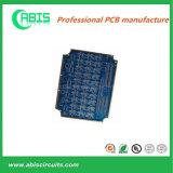 PCB tinta azul, eléctrico capa rígida placa de circuito