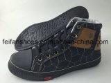 ジーンの最もよい品質の上部の子供の注入の靴、Hotsaleの履物の靴および競争は高く評価る(FFHH-092608)