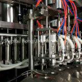 Máquina rotativa de enchimento e tampagem de 200 ml para leite de soja