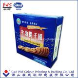 Rectángulo plegable de encargo que empaqueta, productos del rectángulo de papel de las galletas los mejores, rectángulo de papel de las galletas del papel de imprenta de los productos de China del regalo
