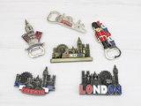 Magnete Ricordo-Promozionale del frigorifero della lega del regalo con l'apri di bottiglia di marchio di Londra