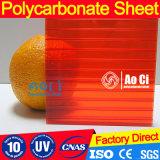 Feuille en plastique polycarbonate creux de haute qualité avec revêtement UV