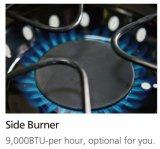 高品質の完全なステンレス鋼4バーナーのガスのグリルBBQ