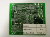 Raad van de Kring van RoHS Elektronische Fr-4 Multilayer PCB, de Fabrikant van PCB in China