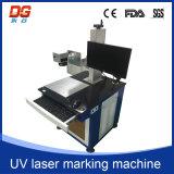 Гравировка машины маркировки лазера CNC 5W UV для стекла