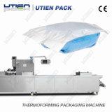 Máquina de empacotamento automática do vácuo de Thermoforming para a gaze médica