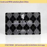 Cuatro colores magnéticos tiras de plástico tarjeta de regalo para la tienda franquicia