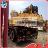 中国のブランドの移動式トラッククレーンの25tonによって使用されるトラッククレーン