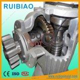 Engranaje de gusano y tipo reductor del eje usado para el alzamiento del pasajero de la construcción