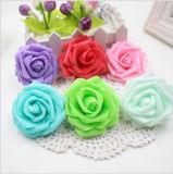 Flores artificiales de Rose de la espuma para la decoración casera Scrapbooking de la boda