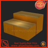 Meubles en bois en bois de crémaillère d'étalage