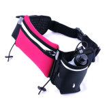 スポーツのためのカスタマイズされた防水通気性のLycra連続したベルトの水和のウエスト袋