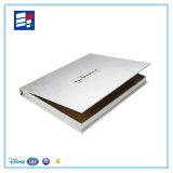 Caixa de empacotamento modelo luxuosa do livro de papel para produtos de cuidado de pele