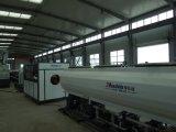 Cadena de producción del estirador del tubo del HDPE línea de la protuberancia del tubo del abastecimiento de agua