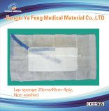 Spugna non lavata 20cmx40cm-4ply del giro della preparazione chirurgica
