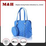 本革の女性デザイナーPUのハンドバッグのショッピング・バッグ