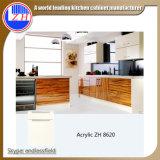 オーストラリアの標準現代光沢度の高い台所食器棚のモジュラー木の食器棚