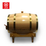Spitzenverkaufs-Qualitäts-hölzerner Wein-Zylinder mit 5L 10L 225L