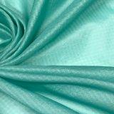 tela de nylon del telar jacquar de la tela escocesa 15D para la protección al aire libre de Sun de la ropa