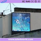 7500CD/M2 publicidad a todo color al aire libre de la fábrica de la tarjeta del panel de la pantalla de visualización de LED del brillo P10