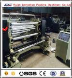 Nicht gesponnene aufschlitzende und Rückspulenmaschine Gewebe-Rolle (DC-QFJ)