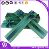 Document van de Druk van het Embleem van de Douane van de luxe nam het Verpakkende het Vakje van de Bloem van de Gift toe