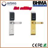 Fechamento eletrônico do hotel da forma moderna com o fechamento de porta do controle de acesso do cartão do diodo emissor de luz RFID