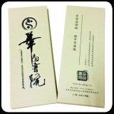 Impression faite sur commande pliée de catalogue d'impression de brochure de feuillet avec Endroit-UV