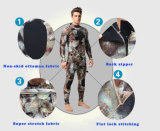 Man Neoprene Camouflage Freediving Utter Trathlon Wetsuit Swim Wear