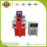 bewegliches Laser-Schweißgerät der Schmucksache-100With200W für Goldsilber-Kupfer SS